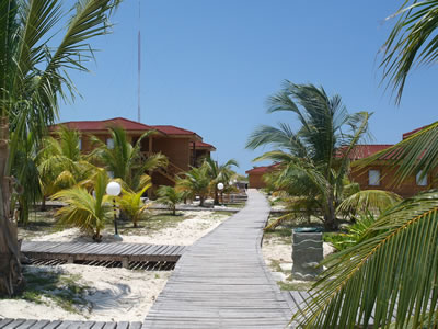 View of hotel Cayo Levisa