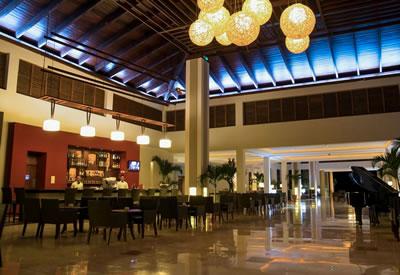 Hotel  Cayo Santa Maria bar lobby, Cuba