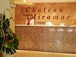 Hotel Chateau Miramar reception desk, Havana, Cuba