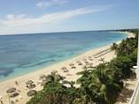 Vista de la playa del Hotel Club Amigo Ancón