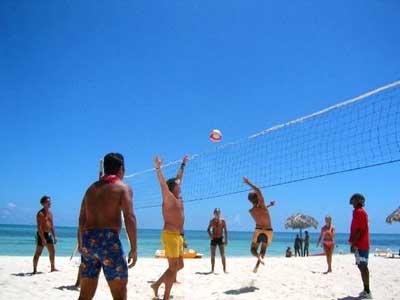 Playa del hotel Club Amigo Caracol