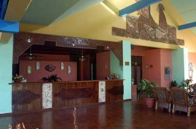Lobby of the Hotel Club Amigo Caracol