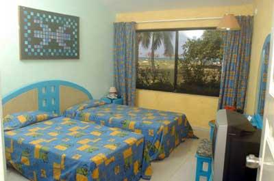 Habitación del Hotel Club Amigo Caracol