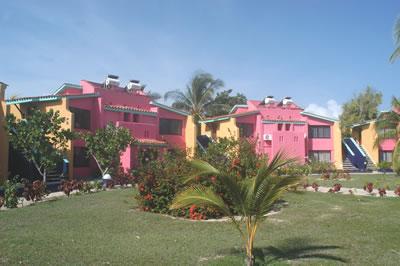 Vista del Hotel Club Amigo Caracol