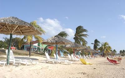Vista del playa del Hotel Club Amigo Costasur
