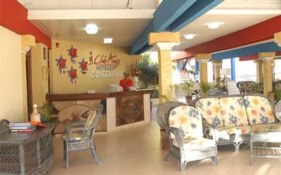 Lobby of the Hotel Club Amigo Costasur