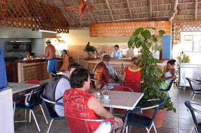 Cafetería del Hotel Club Amigo Mayanabo