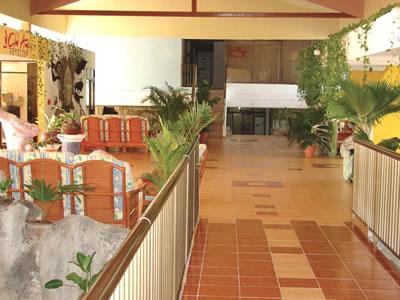 Lobby del Hotel Club Amigo Mayanabo