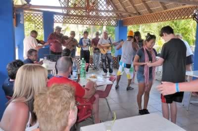 Recreación en el Hotel Club Amigo Mayanabo