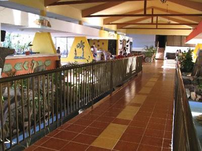 Vista interna del Hotel Club Amigo Mayanabo
