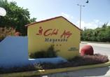 Entrance of the Hotel Club Amigo Mayanabo