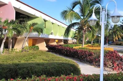 Vista del hotel Club Amigo Mayanabo