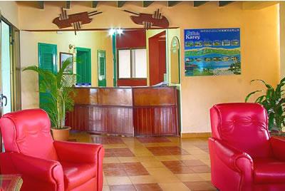 Lobby of hotel Club Karey