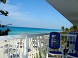Vista de la playa desde el Hotel Club Tropical