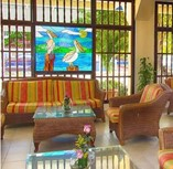 Lobby of Hotel Club Tropical