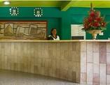 Recepción del Hotel Colina