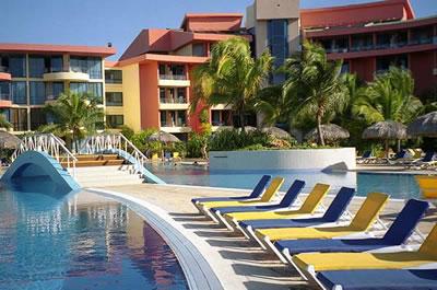 View of hotel Coralia Club Playa de Oro