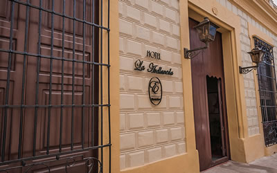 Hotel La Avellaneda Fachada