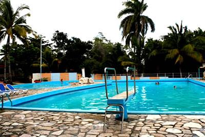 """Pool of hotel """"El Bosque"""""""