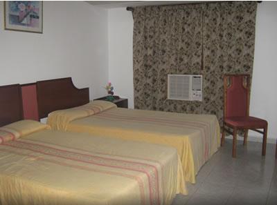 """Habitación estándar del hotel """"El Bosque"""""""