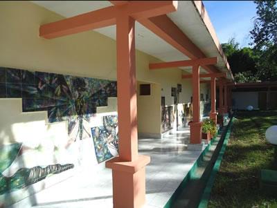 """View of hotel """"El Bosque"""""""