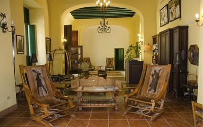 Hotel El Conde de Villanueva Lobby