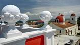 Vista desde el  Hotel Encanto Arsenita   ,Holguín