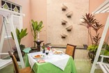 Patio interior del Hotel Encanto Arsenita, Holguín