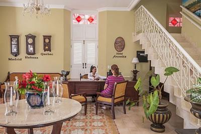 Hotel Encanto Arsenita lobby ,Holguín