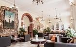 Hotel Encanto Barcelona Lobby,Remedios, Cuba