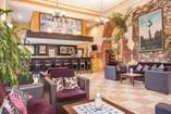 Hotel Encanto Barcelona lobby bar,Remedios, Cuba