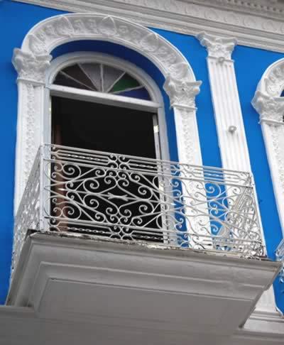 Balcony of hotel Don Florencio