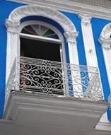 Balcón del hotel Encanto Don Florencio, Cuba