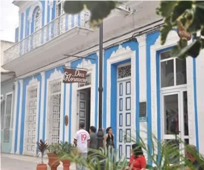 Fachada del hotel Encanto Don Florencio, Cuba