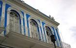 Facade of hotel Don Florencio