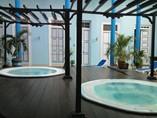 Jacuzzi del hotel Encanto Don Florencio, Cuba
