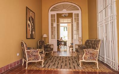 Hotel Encanto El Marqués lobby,Camaguey, Cuba