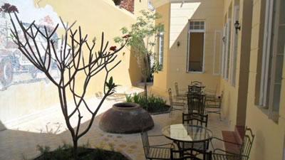 Hotel Encanto El Marqués patio,Camaguey, Cuba