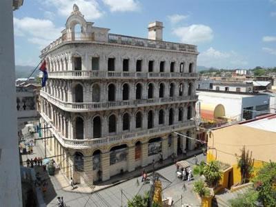 Hotel Encanto Imperial facade, Santiago de Cuba