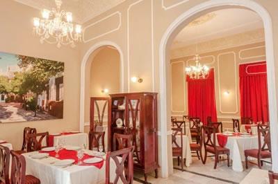 Hotel Encanto La Sevillana restaurant ,Camaguey
