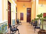 Interior del Hotel Encanto Ordoño, Holguín