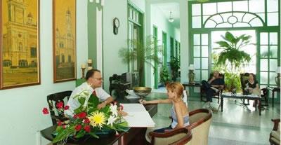 Hotel Encanto San Basilio Lobby, Cuba