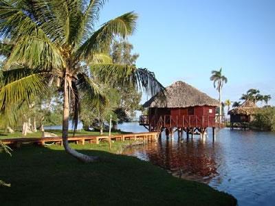Cabaña del Hotel Guamá