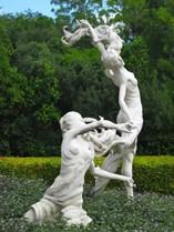 Estatuas en Iberostar Ensenachos Spa Suites