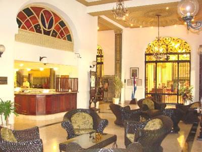 Lobby del Hotel Inglaterra