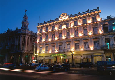 Vista del Hotel Inglaterra