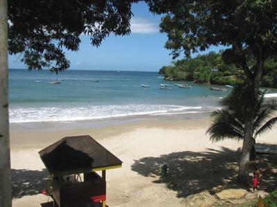 Beach of Hotel Las Cuevas