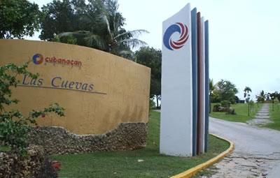 Entrance of Hotel Las Cuevas