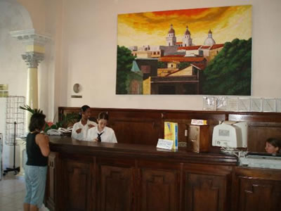 Hotel Libertad Lobby