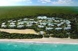 Vista aerea del Hotel Melia Jardines del Rey